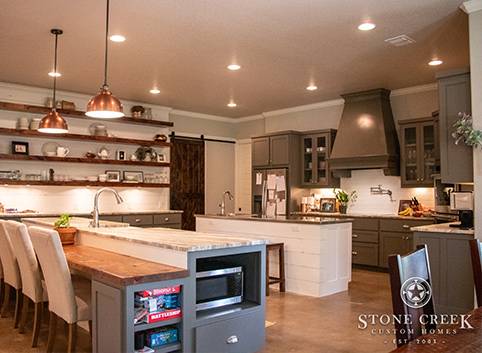 Images of TX Hill Country custom home