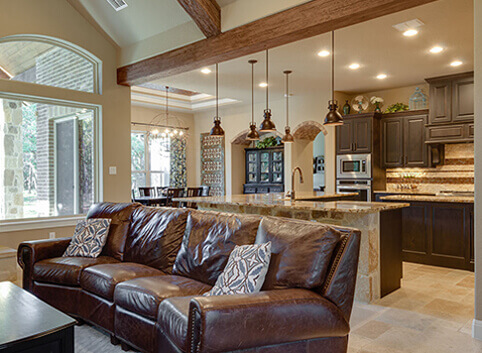 Images of custom home Glenwood