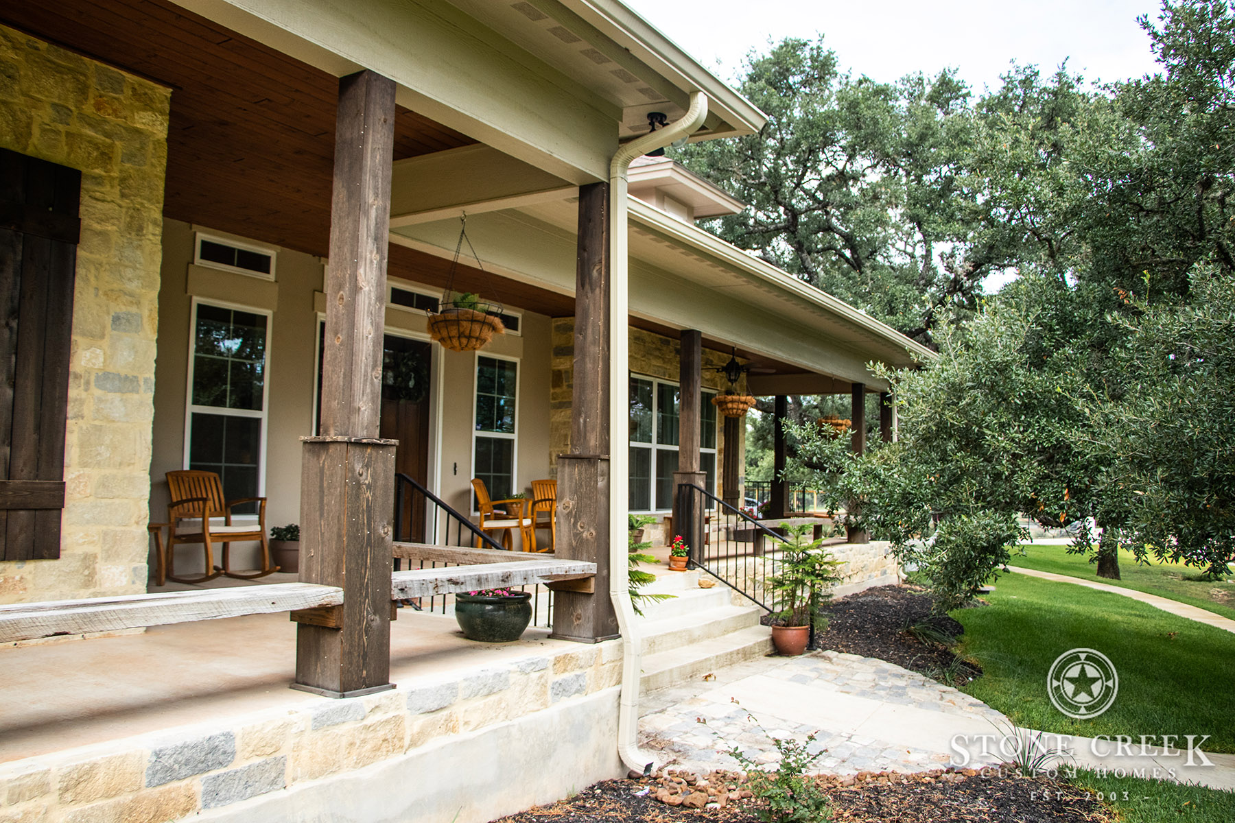 Texas Hill Country Custom Home by Stone Creek Custom Homes